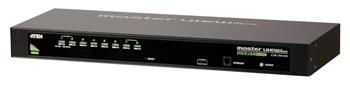 "Aten CS-1308A 8-port KVM PS/2+USB, OSD, rack 19"" - CS-1308A"