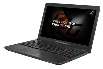 ASUS GL553VD-FY393T 15.6 / i5-7300HQ / 1TB / 8G / GTX1050 / DVD / W10 černý - GL553VD-FY393T