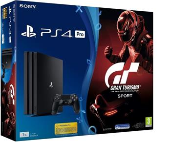 Sony PlayStation 4 Pro 1TB + Gran Turismo Sport - PS719905967