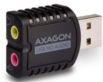 AXAGON USB2.0 - stereo audio MINI adapter - ADA-15