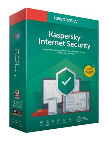 Kaspersky Internet Security MD 2018 CZ 1PC/2roky, prodloužení, el.licence - KL1941XCADR