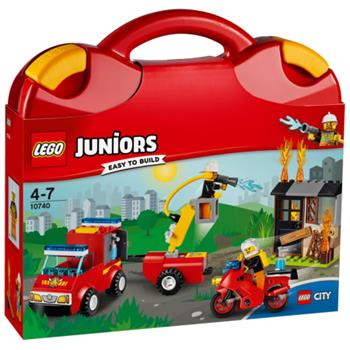 LEGO Juniors - Kufřík hasičské hlídky 10740 - 10740