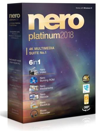 Ahead Nero 2018 Platinum CZ - EMEA-12280000/1316