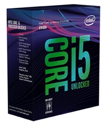 Intel Core i5-8600K skt 1151 - BX80684I58600K