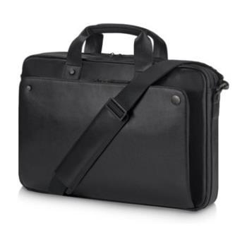 HP Executive 15.6 Black Leather Top Load, brašna na notebook 1LG83AA - 1LG83AA