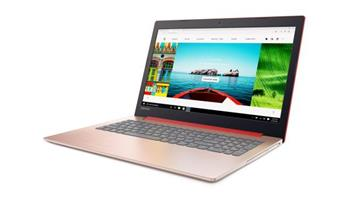 "Lenovo IdeaPad 320 i3-7130U/ 4GB/ 256GB/ 15,6""/ WIN10 červený - 80XL0364CK"