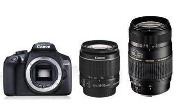 Canon EOS 1300D + 18-55 DC + Tamron 70-300mm - 1160C030TAMRON