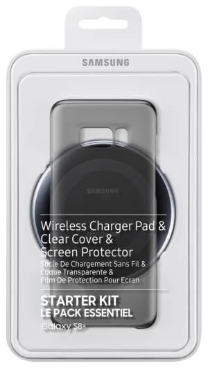Samsung Wireless Charger Kit Galaxy S8 +, Black - EP-WG95FBBEGWW