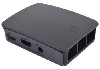 RASPBERRY case Original černá pro Raspberry Pi model B+, Rpi 2 B, Rpi 3 B - RB-Case+06B