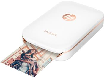 HP Sprocket Photo Printer, bílá - Z3Z91A
