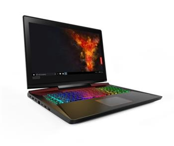 "Lenovo Legion Y920 i7-7700HQ/ 16GB/ SSD 256GB+HDD 2TB/ 17,3"" FHD/ GeForce 8GB/ WIN10 - 80YW000LCK"