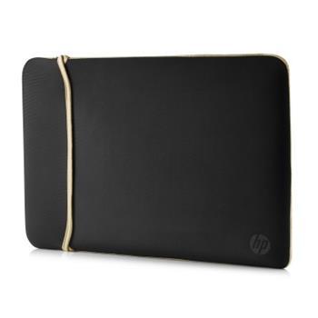 "HP 15.6"" Reversible Sleeve - Black/Gold, pouzdro na notebook 2UF60AA - 2UF60AA"