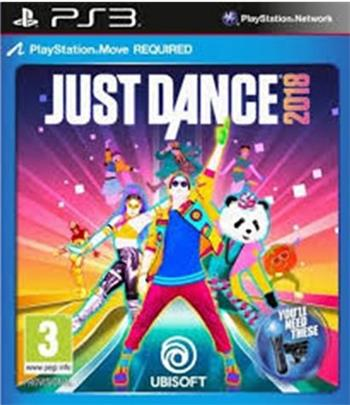 Just Dance 2018 PS3 - 3307216017394