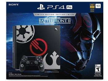 SONY PlayStation 4 PRO - 1TB + StarWars: BattleFrtont II - PS719973164