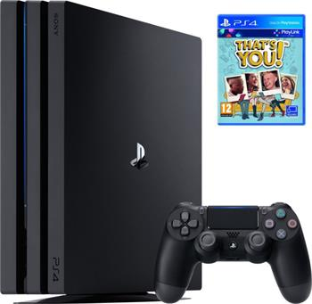 Sony PlayStation 4 PRO 1TB černý + That's You - PS719953760