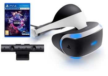 PlayStation VR pro PS4 + hra VR Worlds + PS4 Kamera - PS719952060