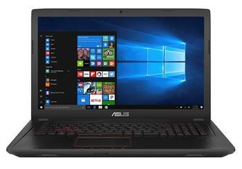 """ASUS FX753VD-GC261T 17,3"""" / i5-7300HQ / 1TB / 8G / GTX1050 / DVD / W10 černý - FX753VD-GC261T"""