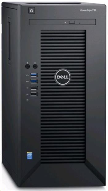 DELL T30/ E3-1225/ 16GB/ 2x 120GB SSD + 2x 1TB/ DVDRW/ 3YNBD on-site - T30-2121621-3PS