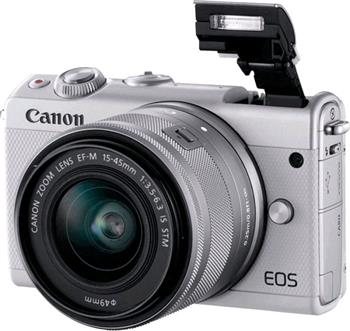 Canon EOS M100 Grey + EF-M 15-45mm IS STM LTD Edition - 2209C096