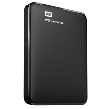 "WD Elements Portable 4TB Ext. 2.5"" USB3.0, černý - WDBU6Y0040BBK-WESN"