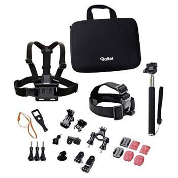 Rollei sada příslušenství pro outdoor / 23ks pro kamery ROLLEI a GoPro - 21639