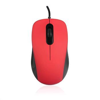 Modecom optická myš MC-M10S černo-červená - M-MC-M10S-500