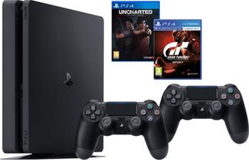 SONY PlayStation 4 Slim - 1TB + GTS + Uncharted: The Lost Legacy + DS4 - PS719348870