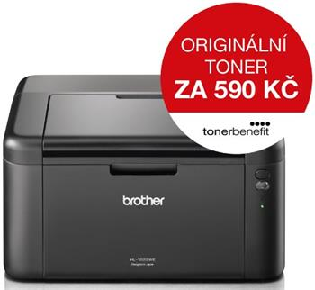 BROTHER HL-1222WE (20str., HQ-1200dpi, 32MB,GDI,USB 2.0) + WiFi - TONER BENEFIT ! - HL1222WEYJ1