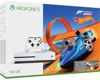 Xbox One S 500GB + Forza Horizon 3 + Hot Wheels - ZQ9-00210