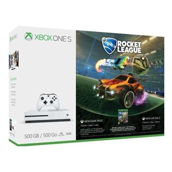 XBOX ONE S 500 GB + Rocket League + 3M Xbox Live Gold - ZQ9-00327