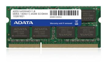 Rozbaleno - A-DATA 8GB 1600MHz DDR3L CL11 SODIMM 1.35V - ADDS1600W8G11-R