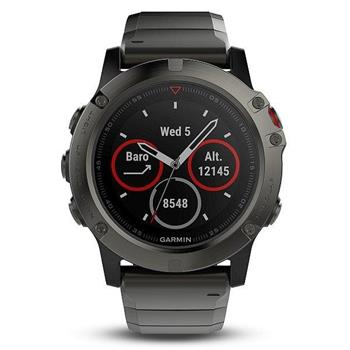Garmin fenix 5X Sapphire Gray Optic Metal band - 010-01733-03