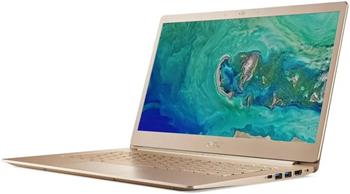 """Acer Swift 5 - 14T""""/ i7-8550U/ 16G/ 512SSD/ W10 zlatý - NX.GU4EC.003"""