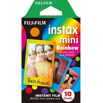 Fujifilm COLORFILM INSTAX mini 10 fotografií - RAINBOW - 16276405