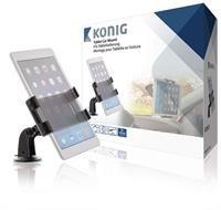Konig Univerzální držák na tablet do auta, 360°, 140–240 mm - KNM-FCTM11