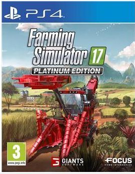 Farming Simulator 17 - Platinum Edition PS4 - 71914