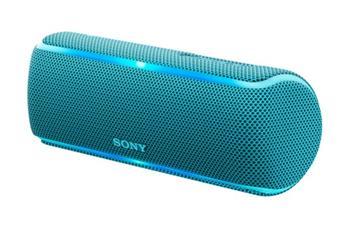 Sony SRS-XB21 bezdrátový reproduktor, modrý - SRSXB21L.CE7