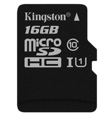 Kingston micro SDHC karta 16GB Canvas Select UHS-I U1 - SDCS/16GBSP