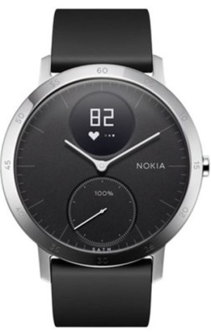 Nokia Steel HR 40mm - černá - HWA03-40black-All-Inter