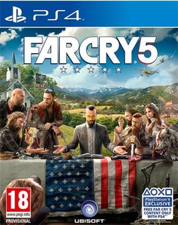 Far Cry 5 PS4 - 3307216023234