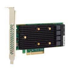 Broadcom LSI HBA 9400-16i, 12Gb/s, NVMe 4-port/ SAS/SATA 16-port int, PCI-E 3.1 x8, konektor 4x Mini-SAS HD SFF-8643 - 05-50008-00