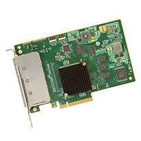 Broadcom LSI HBA 9201-16e, 6Gb/s, SAS/SATA 16-port ext, PCI-E 2.0 x8, SGL, konektor 4x Mini-SAS SFF-8088 - H5-25379-00