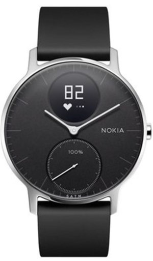 Nokia Steel HR 36mm - černá - HWA03-36black-All-Inter