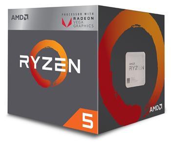 AMD Ryzen 5 6C/12T 2600 skt.AM4 - YD2600BBAFBOX