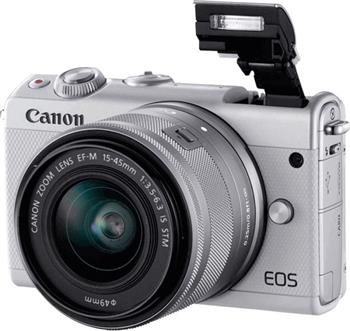 Canon EOS M100 Grey + EF-M 15-45mm IS STM + Irista - 2211C067