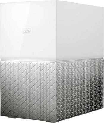 "WD My Cloud HOME DUO 12TB (2x6TB),Ext. 3.5"" RJ45 (GLAN) , NAS - WDBMUT0120JWT-EESN"