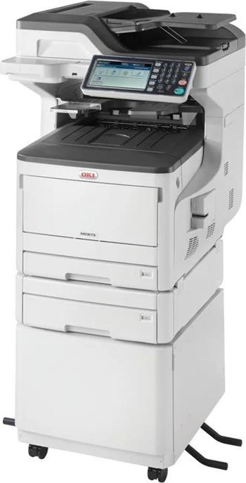 OKI MC873dnct A3 35/35 ppm ProQ2400 dpi PCL6/PS3,USB 2.0,LAN (Print/Scan/Copy/Fax) - 45850621