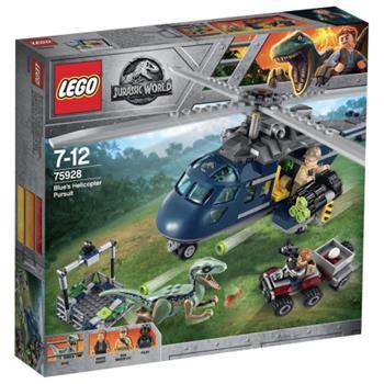 LEGO Jurassic World - Pronásledování Bluea helikoptérou 75928 - 75928