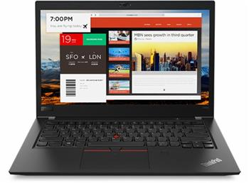 """Lenovo ThinkPad T480s i7-8550U / 8GB / 256GB SSD / UHD Graphics 620 / 14""""FHD IPS / 4G / Win10PRO / Black - 20L7001NMC"""