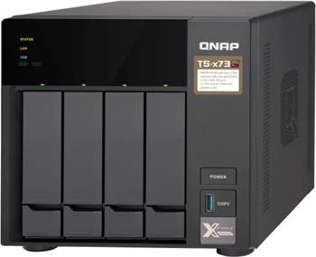 QNAP TS-473-8G (2,1Ghz/8GB RAM/4xSATA/2xPCIe) - TS-473-8G